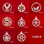 Ahşap Geyikler YLB03-B 1