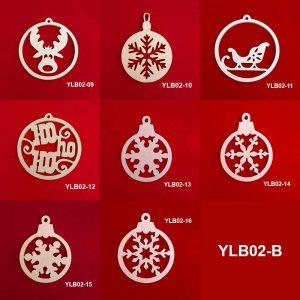 Ağaç Süsleme Topları YLB02-B 5