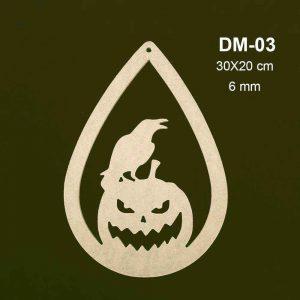 Ahşap Balkabağı DM-03 1