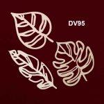 Ahşap Ekzotik Yapraklar DV95