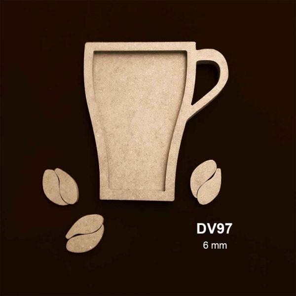 Ahşap Kahve Kupası DV97