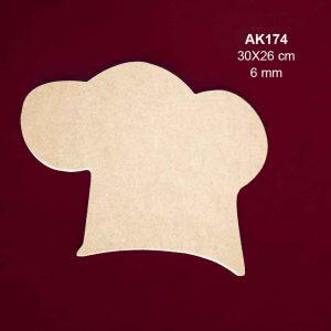 Ahşap Aşçı Kepi AK174 4