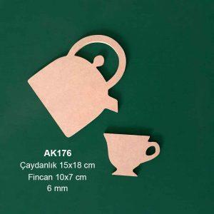 Ahşap Çaydanlık Set AK176 2