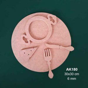 Ahşap Mutfak Dekoru AK180