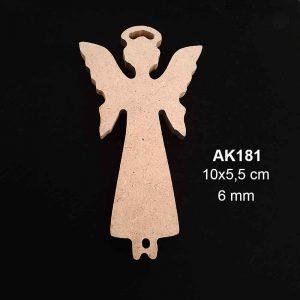 Ahşap Melek Figürü AK181