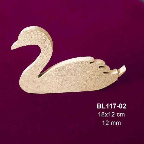 Ahşap Kuğu Biblo BL117-02