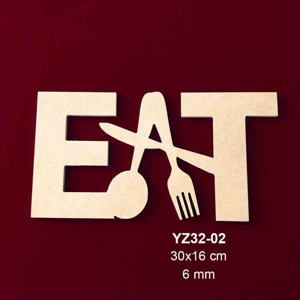 Akşap Eat Yazısı YZ32-02
