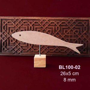 Akşap Balık Biblo BL100-02