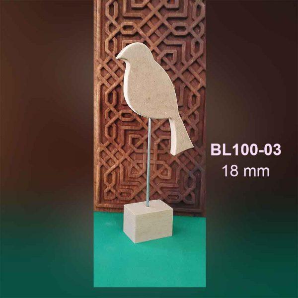 Ahşap Kuş Biblo BL100-03