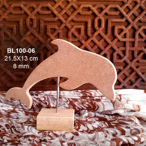 Ahşap Yunus Biblo BL100-06