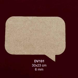 Ahşap Düşünce Panosu DV101