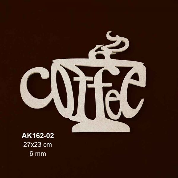Ahşap Coffee Cup AK162-02