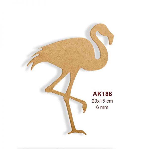 Ahşap Flamingo AK186