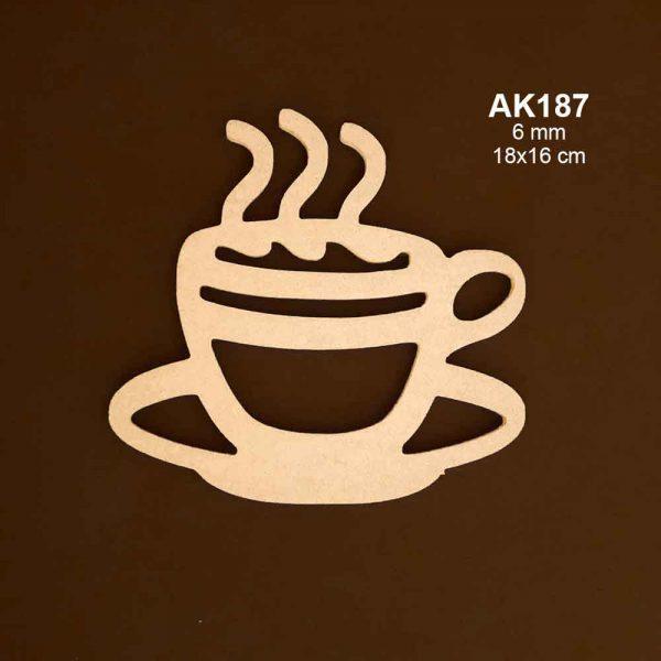 Ahşap Kahve Fincanı AK187