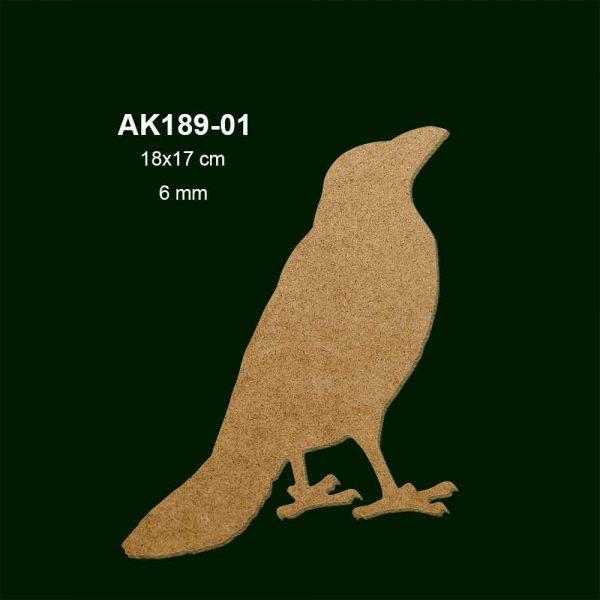 Ahşap Karga Figürü AK189-01