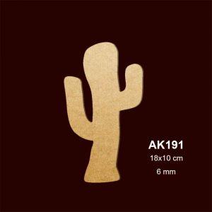 Ahşap Kaktüs AK191