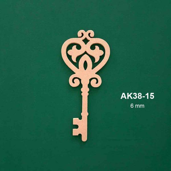 Ahşap Anahtar AK38-15