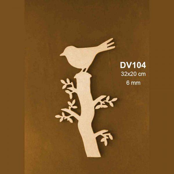 Daldaki Kuş Figürü DV104