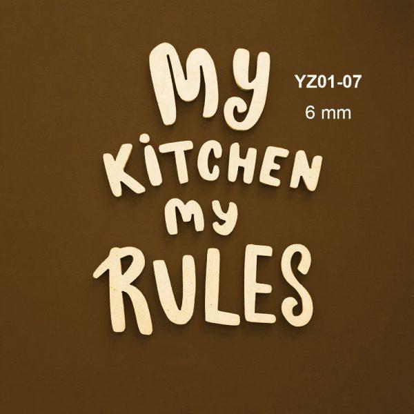 My Kitchen My Rules YZ01-07