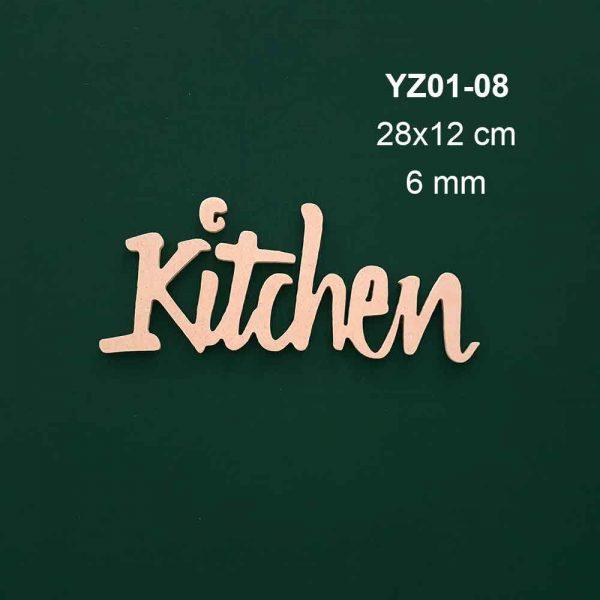 Kitchen Yazısı YZ01-08