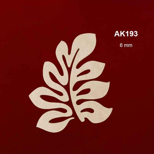 Ahşap Yaprak Figürü AK193