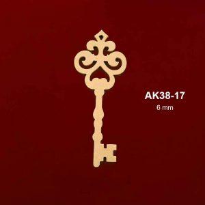 Ahşap Anahtar AK38-17