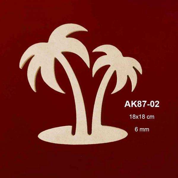 Ahşap Palmiye AK87-02