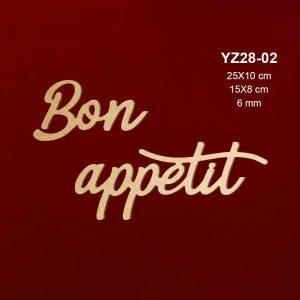 Ahşap Bon Appetit YZ28-02