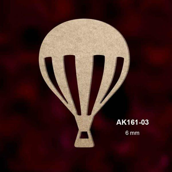 Ahşap Uçan Balon AK161-03