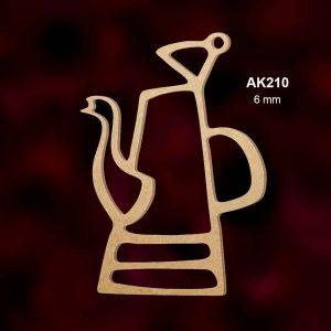 Ahşap Kahve Güğümü AK210