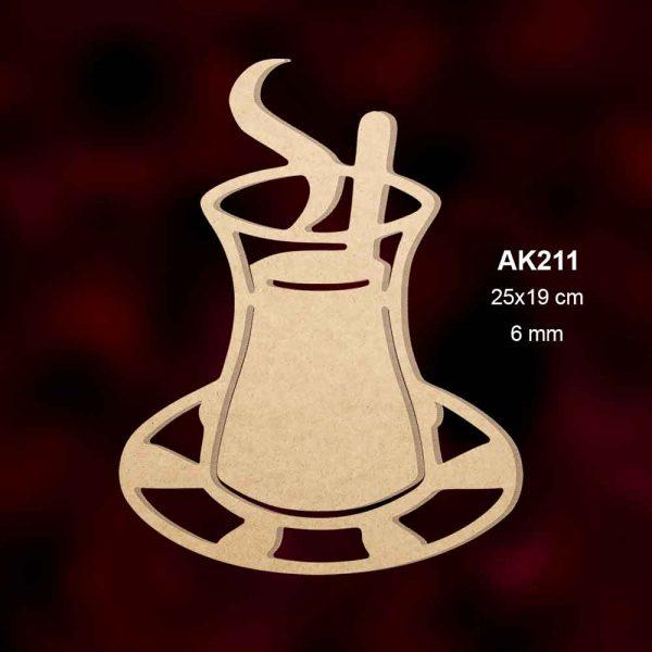 Ahşap Çay Bardağı AK211