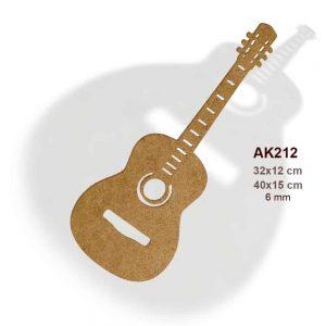 Ahşap Akustik Gitar AK212