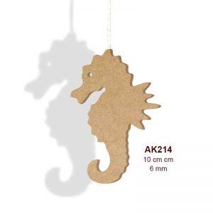Ahşap Deniz Atı İpli AK214