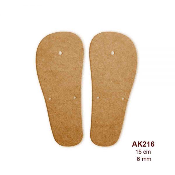 Ahşap Sandalet Tabanı AK216