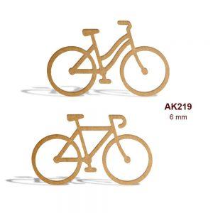 Ahşap Kız Erkek Bisikleti AK219