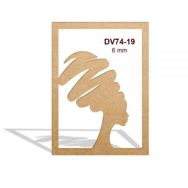 Kadın Silüeti DV74-19