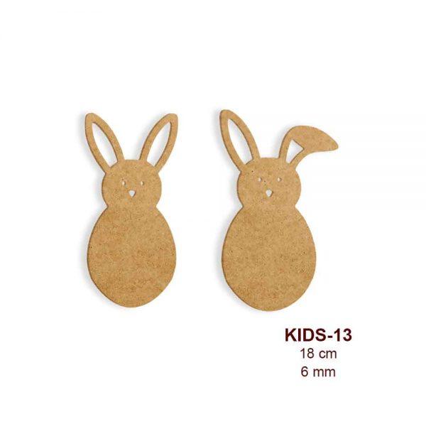 Ahşap Tavşanlar KIDS-13