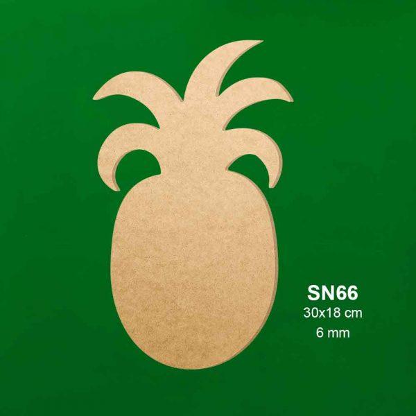 Ahşap Ananas Sunumluk SN66