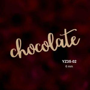 Ahşap Chocolate YZ35-02