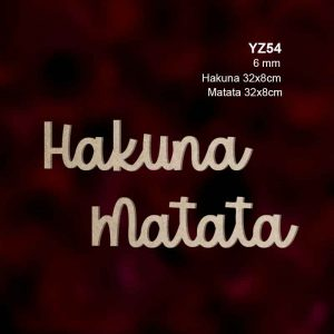 Hakuna Matata YZ54