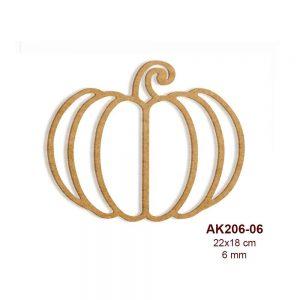 Ahşap Kabak Figürü AK206-06