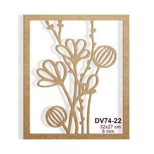 Özgün Çiçekli Pano DV74-22