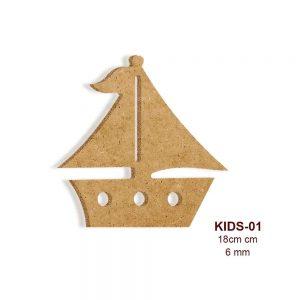 Ahşap Tekne KIDS-01