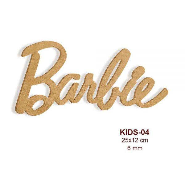 Barbie Logosu KIDS-04