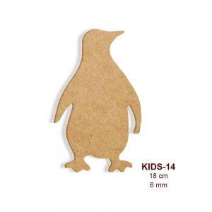 Ahşap Penguen Figürü KIDS-14
