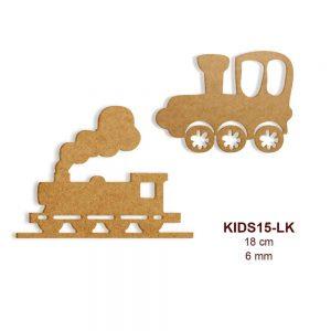 Ahşap Lokomotif KIDS15-LK