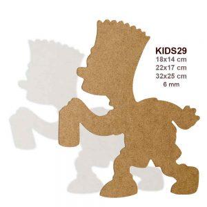 KIDS29 Bart Simpson