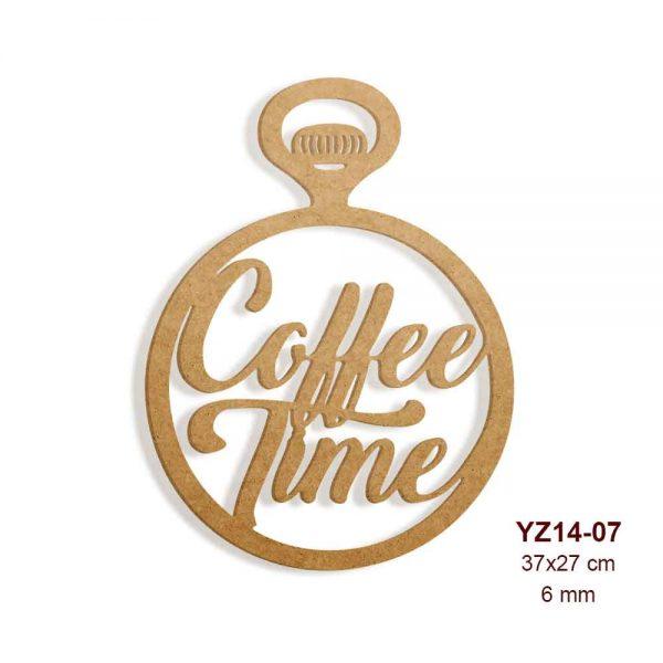 Köstekli Coffee Time Yazısı YZ14-07