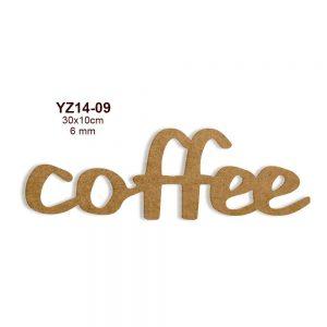 Coffee Yazısı YZ14-09