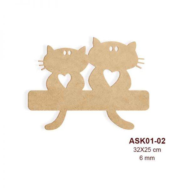 Kedili Askılık Panosu ASK01-02